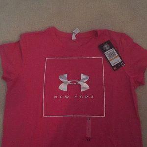 Underarmour Women's Heatgear Short Sleeve T-shirt